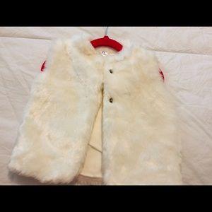 2t girls winter vest